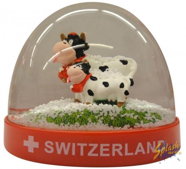 boule à neige PVC funny cow