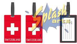 étiquette de bagage switzerland
